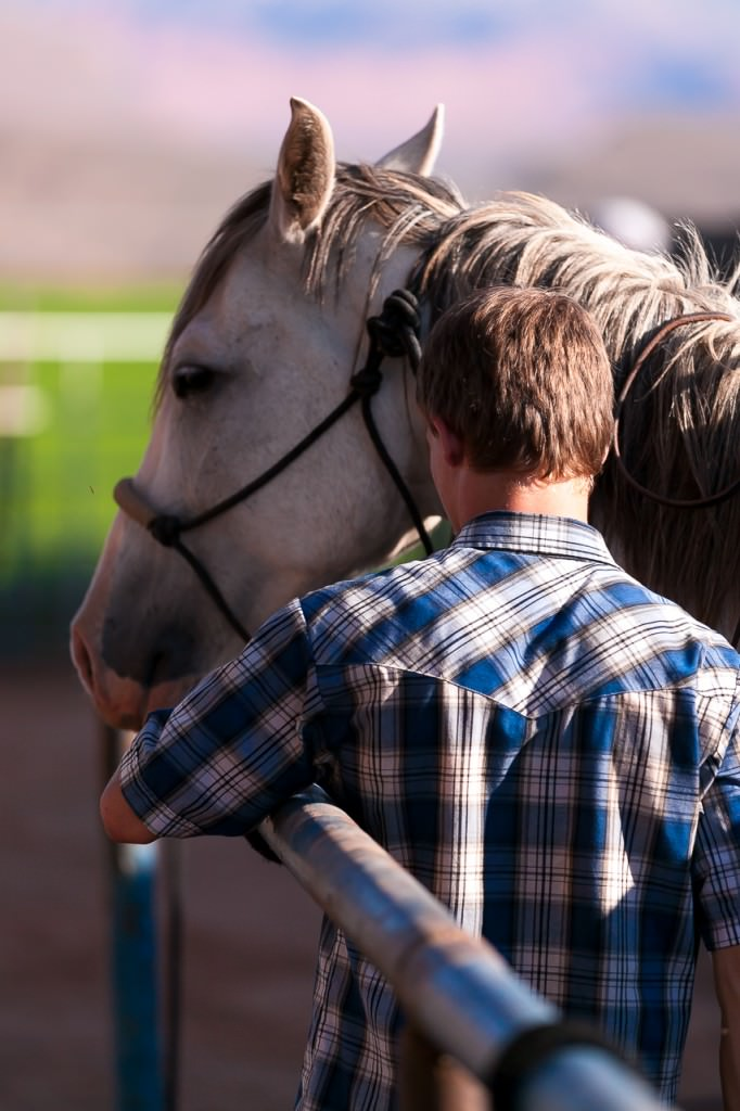 Horsemanship for troubled boys ranch